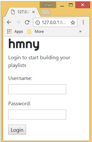 hmny — Building My First Music App with Django (Part 2) - By