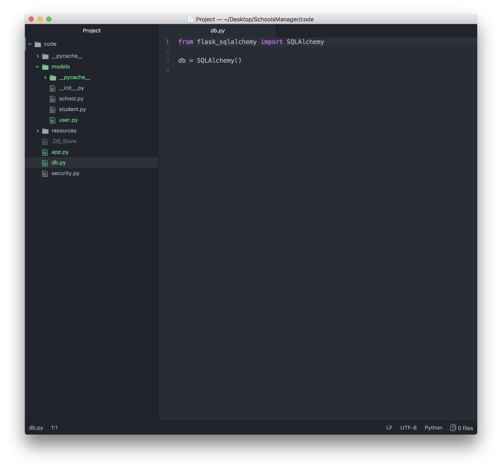Learning Flask being an iOS Developer - By