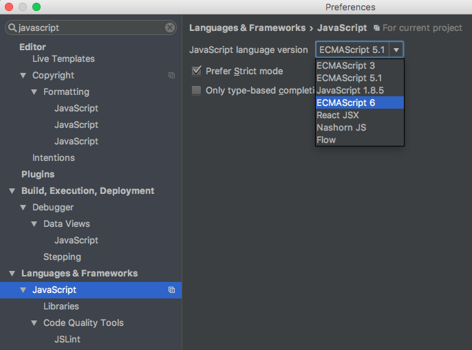 Quickstart guide to using ES6 with Babel, Node and IntelliJ - By