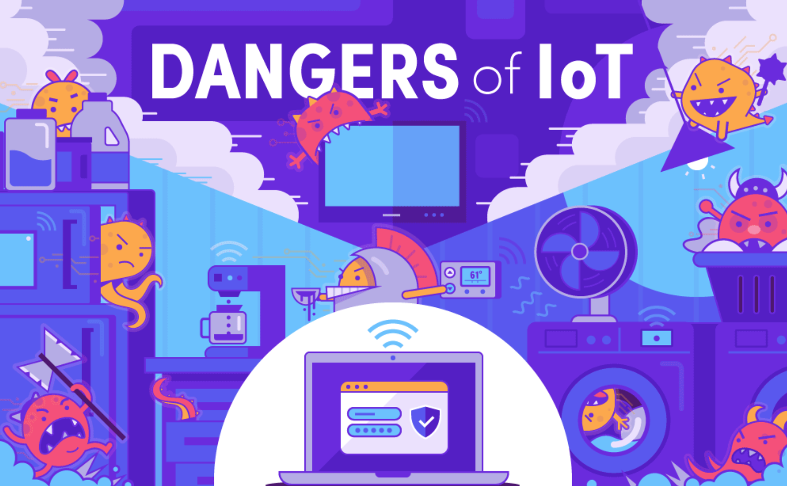 /the-dangerous-state-of-iot-security-e12d27552145 feature image