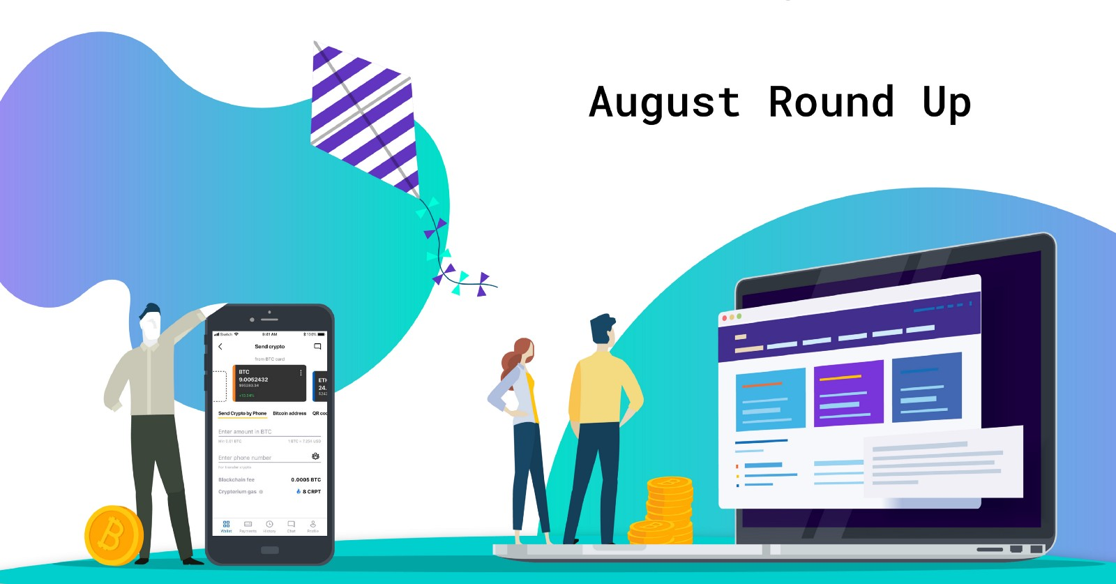 /crypterium-roundup-for-august-new-killer-app-features-in-action-acba4eab3487 feature image
