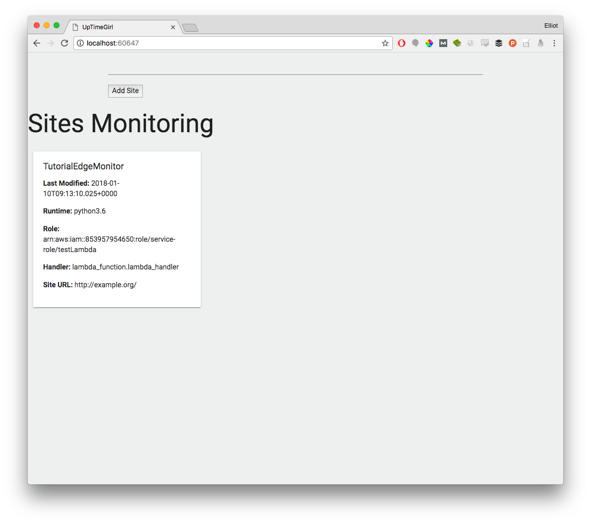Creating A Highly Scalable Website Monitoring Service in half an