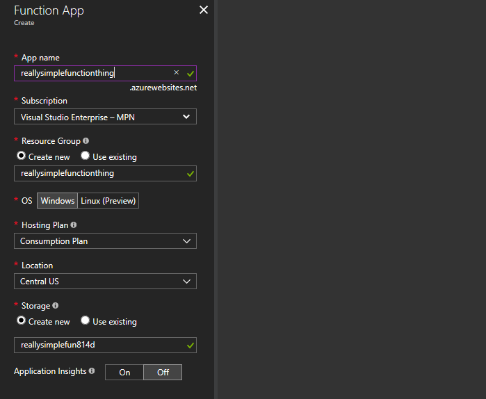 A Simple, Serverless API using Azure Tables & Functions - By