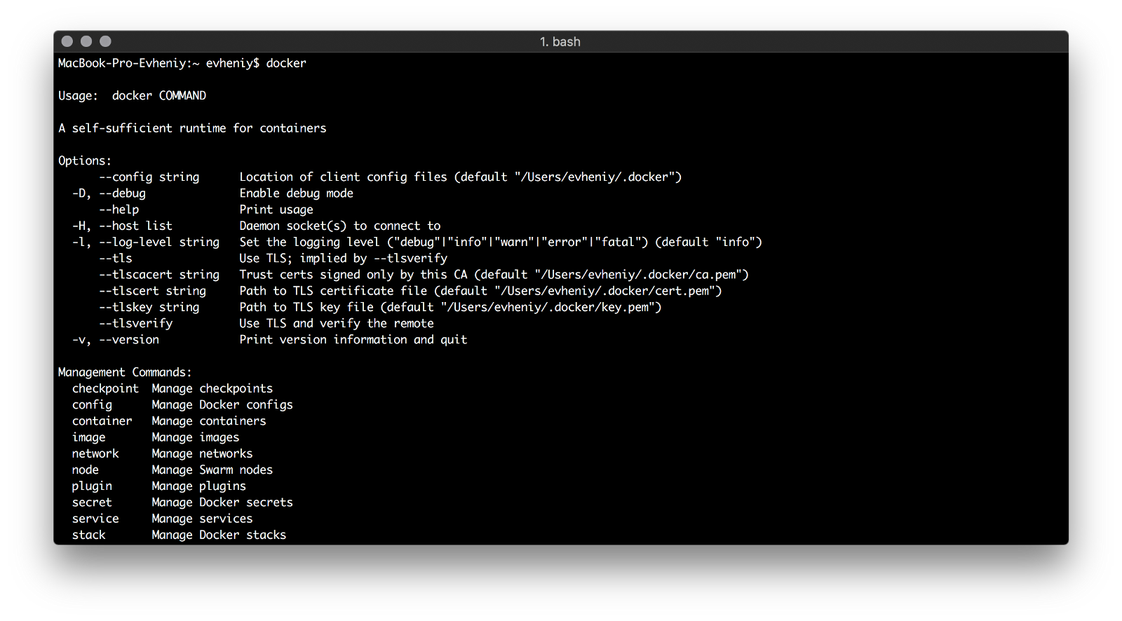 Making right things using Docker - By
