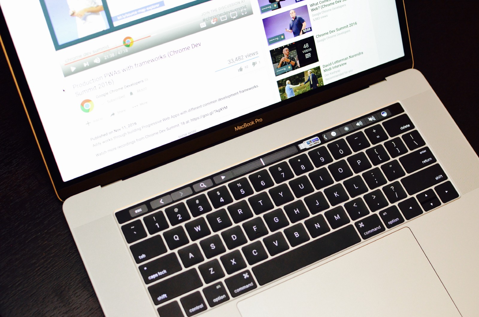 A Week with the new Macbook Pro with Touch Bar - By