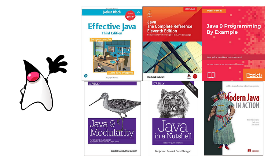 Top 6 Best Books for learning Java Programming - By Sylvain