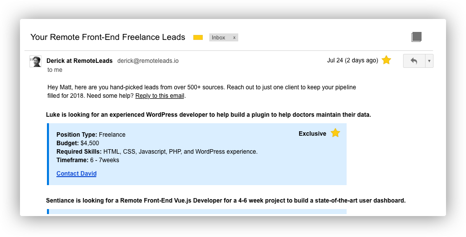 How to find your next remote web development freelance