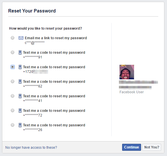 I kinda hacked a few Facebook accounts using a vulnerability they