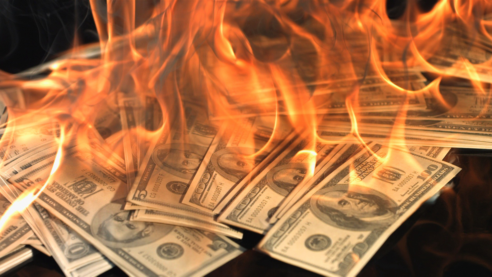 Image result for burning money