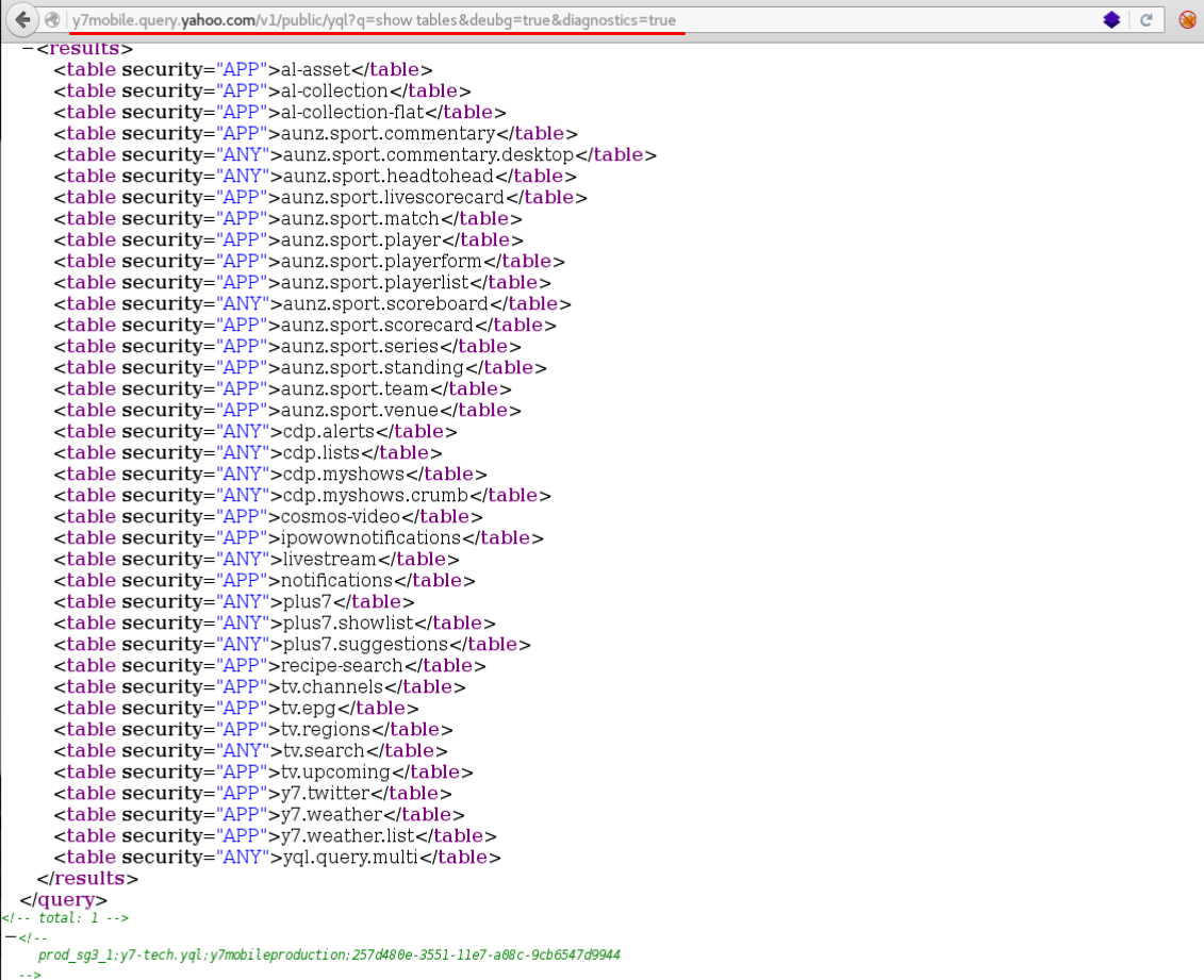 How to find internal subdomains? YQL, Yahoo! and bug bounty