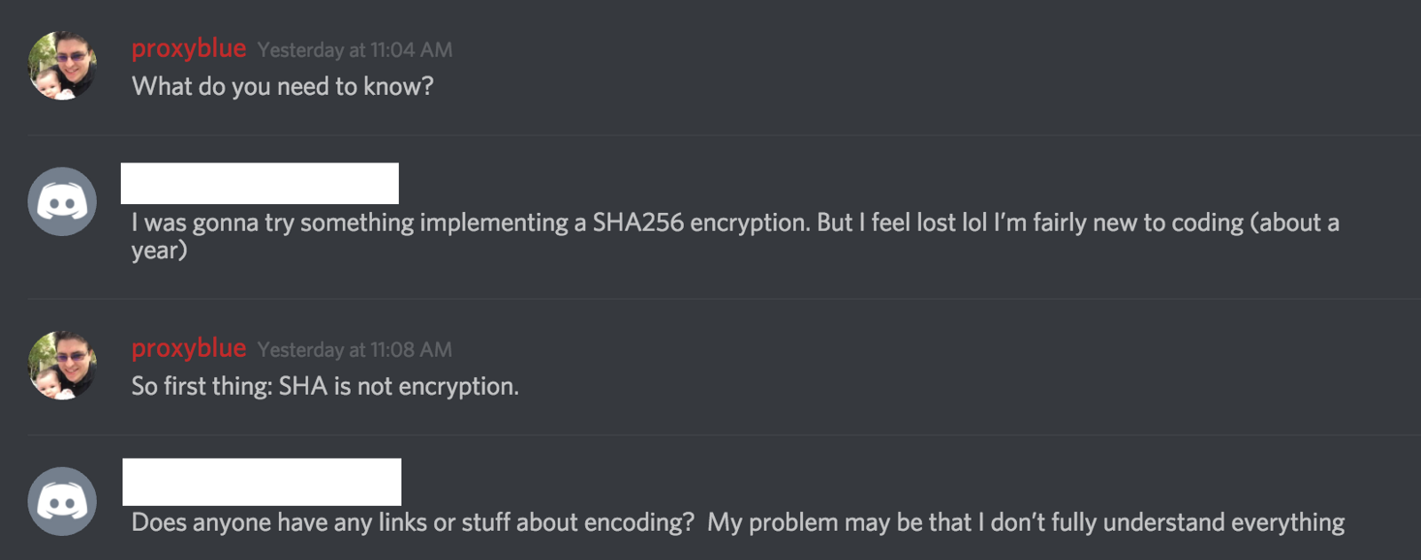 What devs need to know about Encoding / Encryption / Hashing