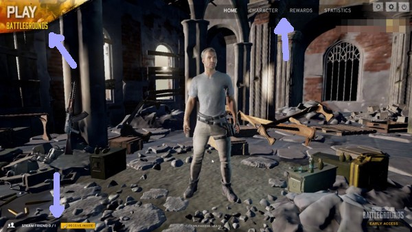 PlayerUnknown's Battlegrounds Main Menu Is Vulnerable to Hacking - By