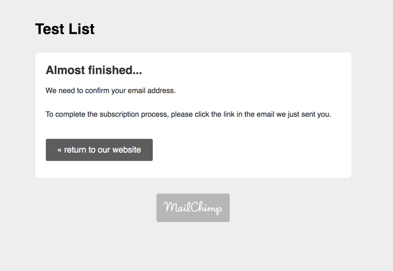 Build a MailChimp-Integrated Email Capture Landing Page in 4