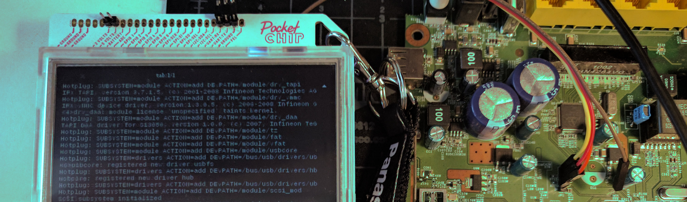 Turn Your PocketCHIP Into a Badass On-The-Go Hardware Hacker's