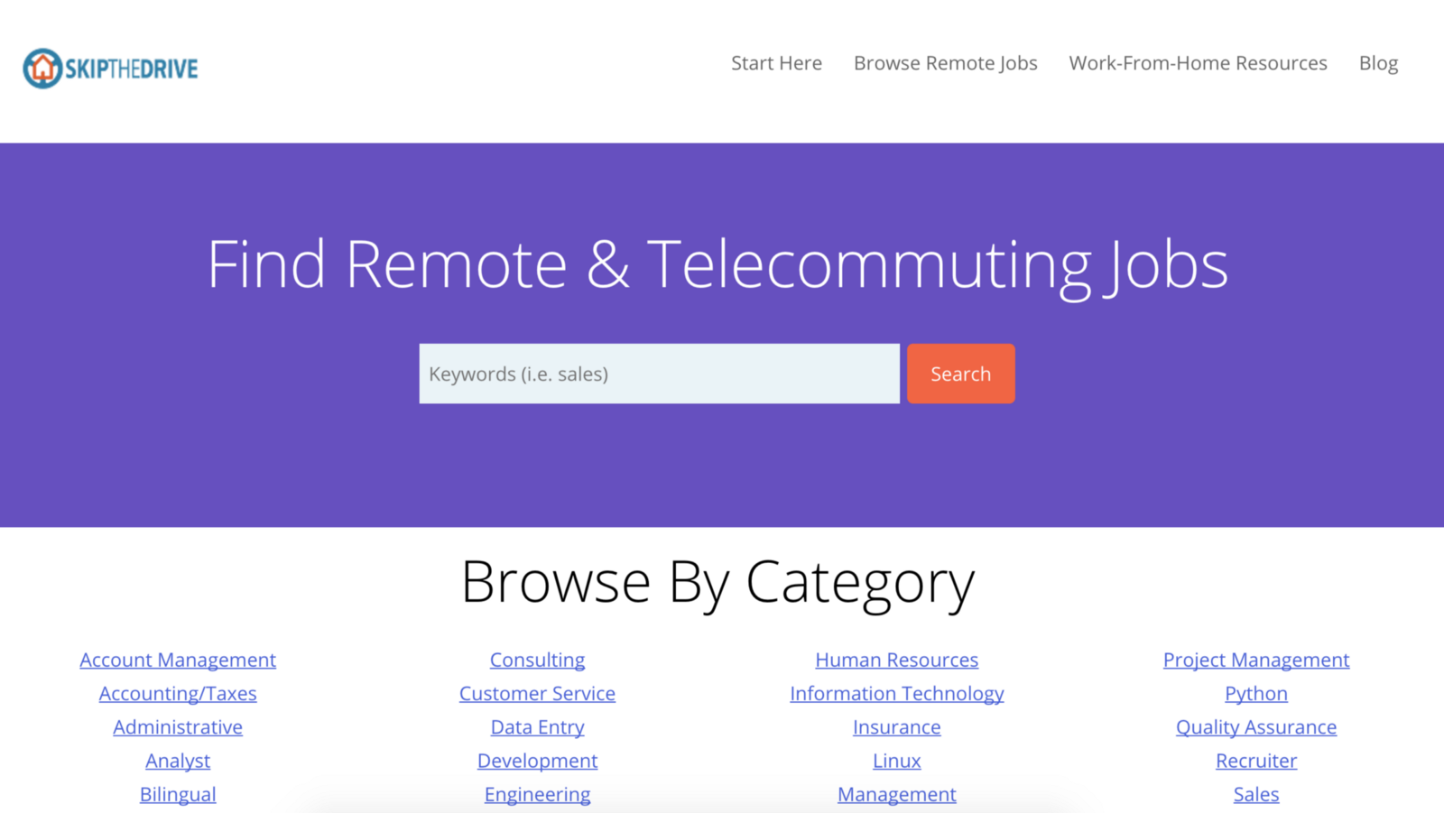 10 Sites to Find Remote Work - By
