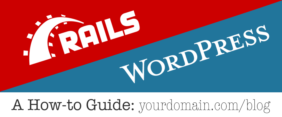 Wordpress inside a Ruby on Rails app - By