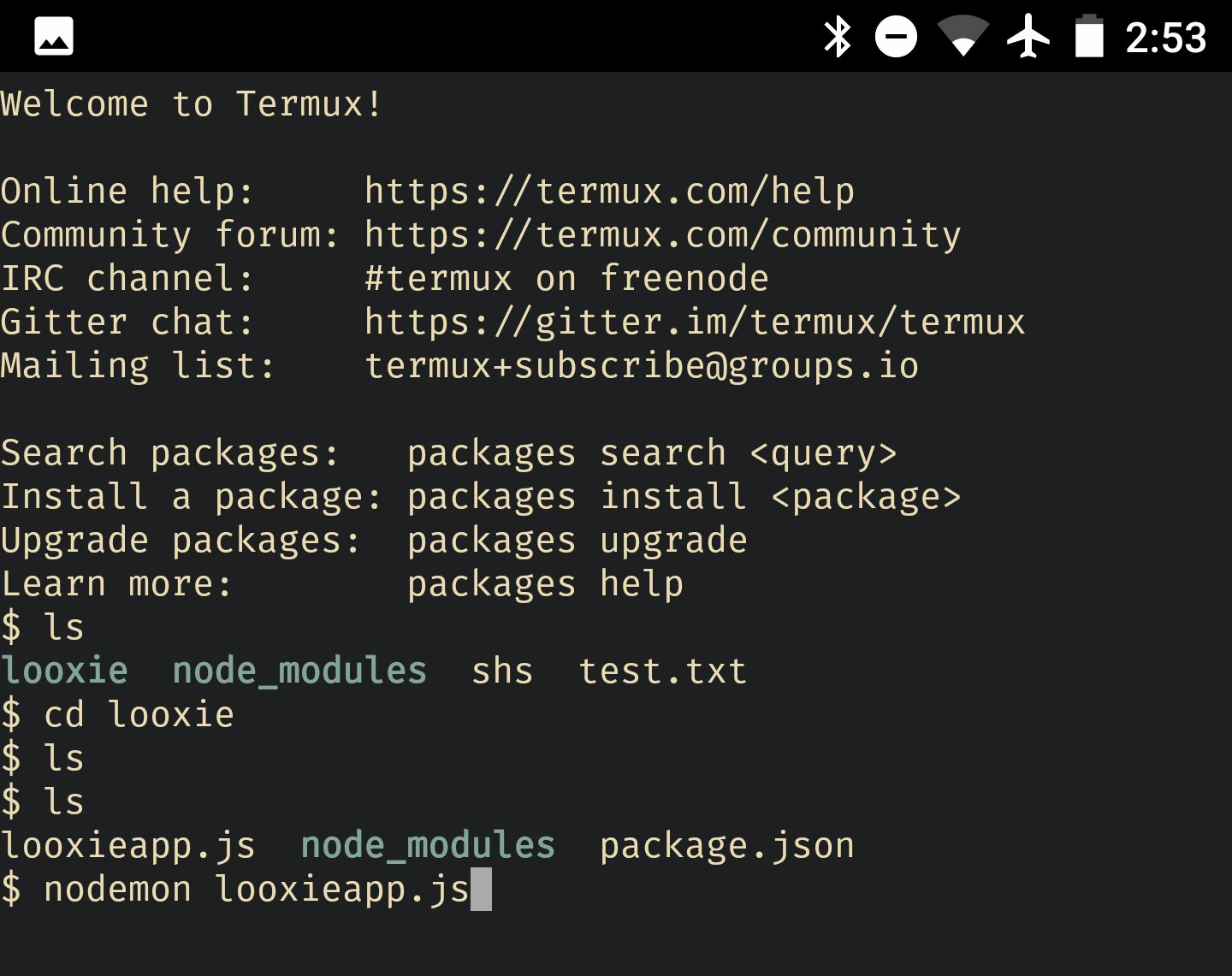 How Termux saved my ass - By