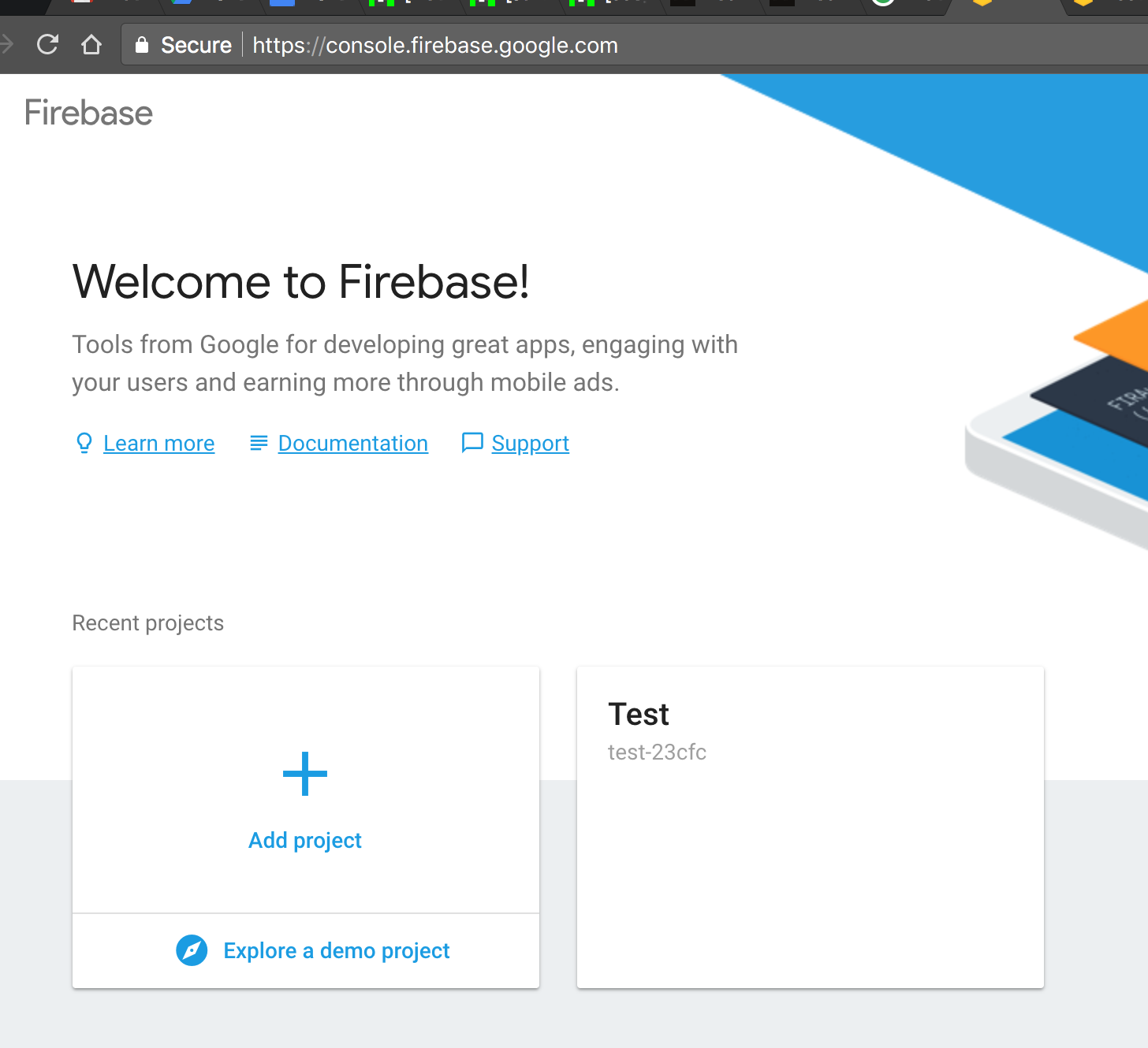 Nodejs] Setup Firebase in 4 step - By