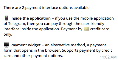 How to start accepting payments with your Telegram Bot - By
