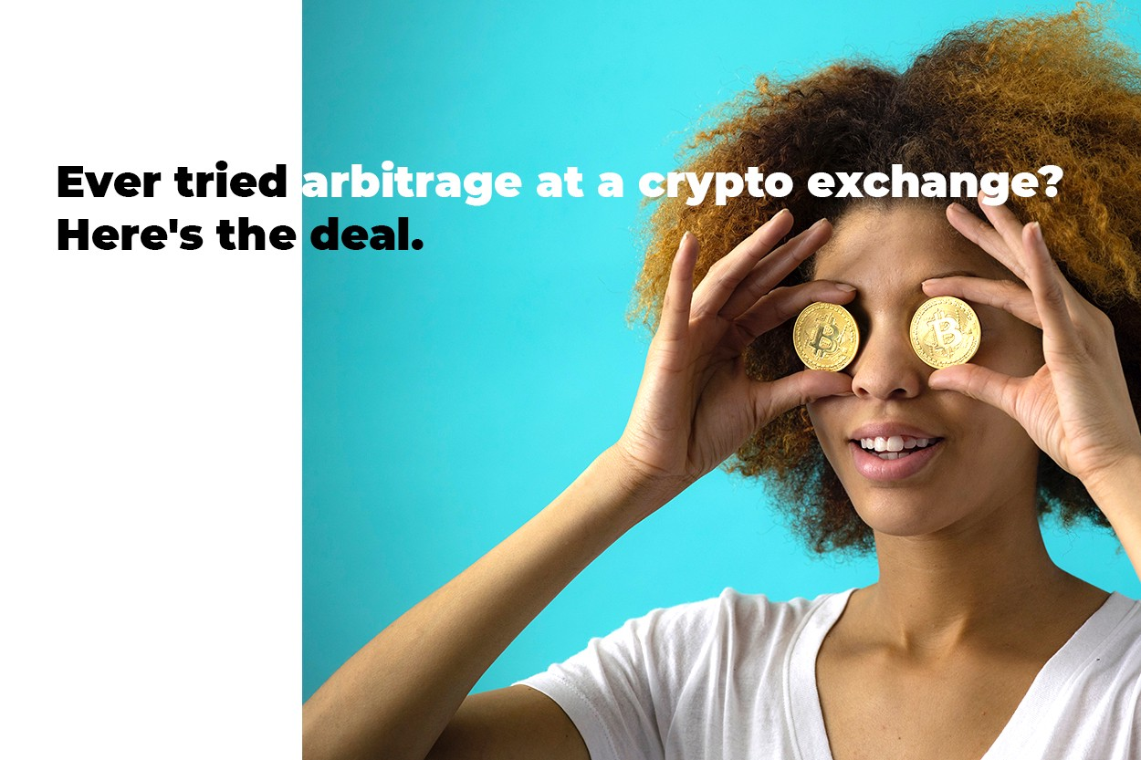 Ever tried arbitrage at a crypto exchange? Here's the deal  - By
