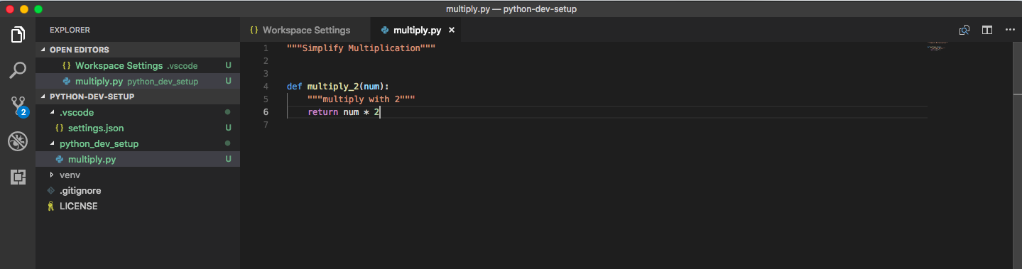 Automate Python Dev in VS Code - By Andreas