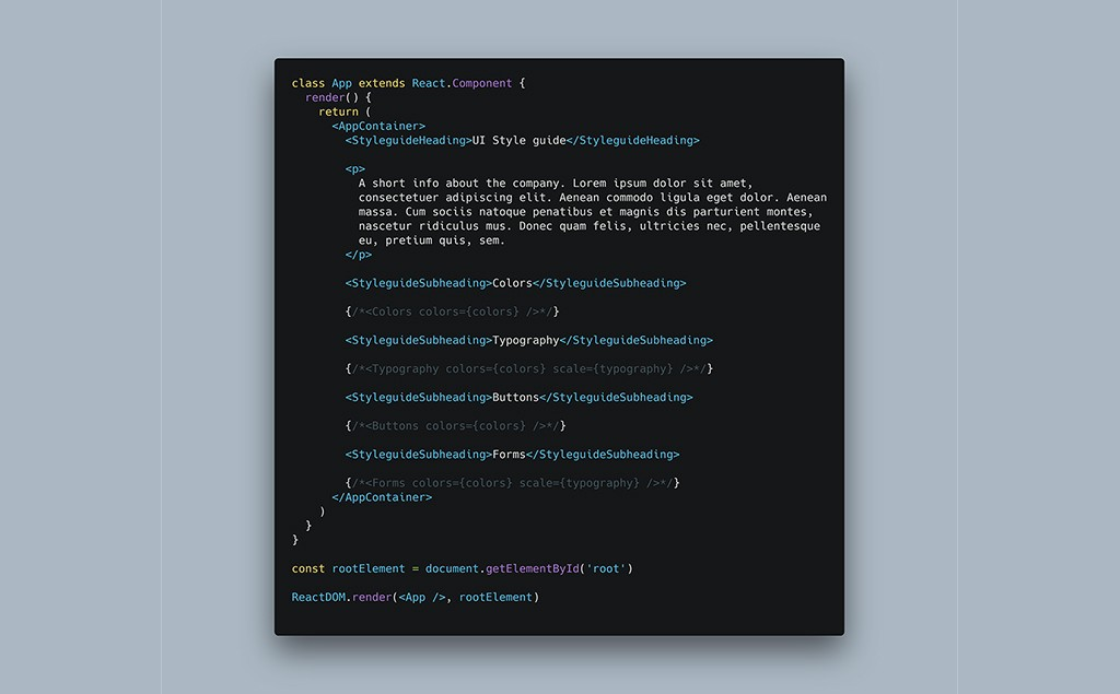 /how-to-build-a-great-style-guide-with-react-styled-components-pt-1-8f70c678a763 feature image
