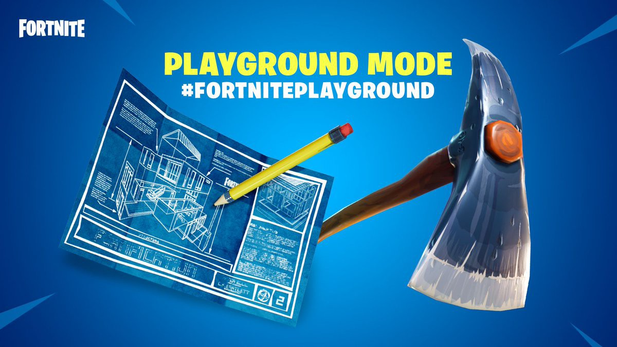 """A NEW ERA FOR FORTNITE, THE RELEASE of """"PLAYGROUND"""" ! - By"""