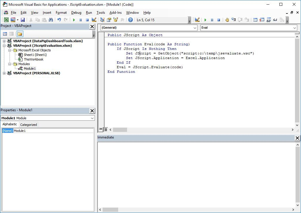 Easy JavaScript Evaluation on Windows - By