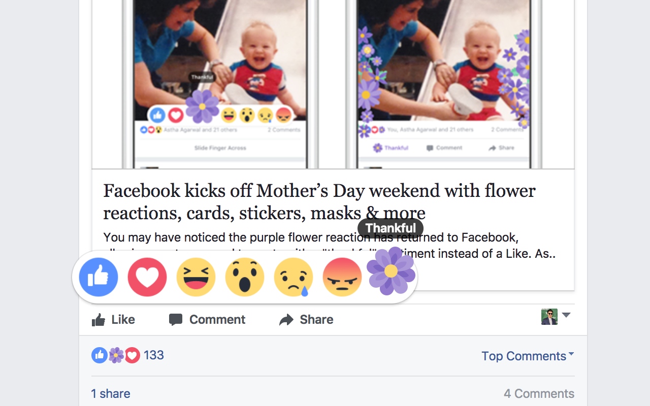 PATCHED ] Forever Thankful on FB —Using React to bring the