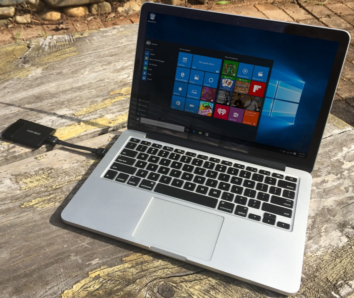 How to run Bootcamp and Windows 10 on a USB SSD - By