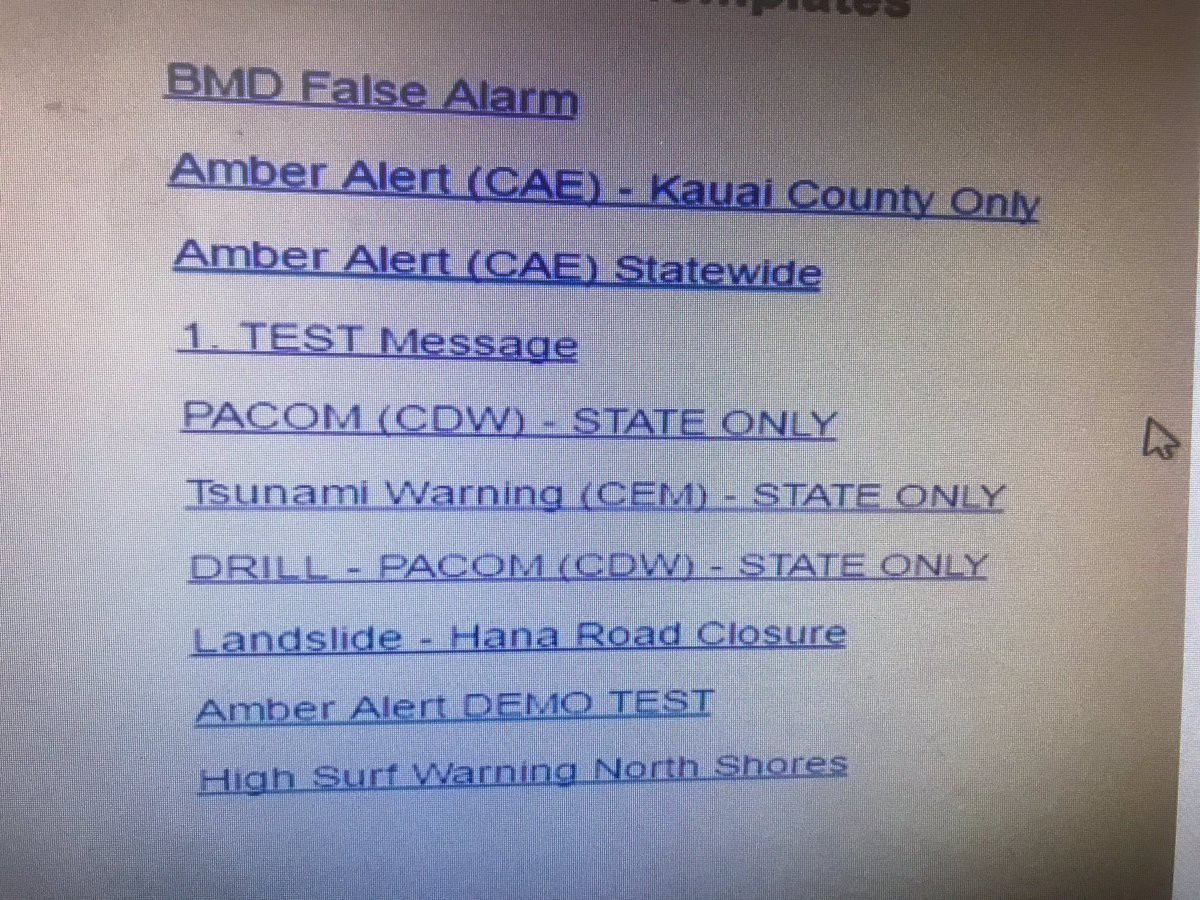 Redesigning Hawaii's Emergency Alert System's Interface In