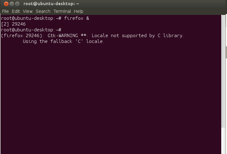 Installation of VNC server on Ubuntu - By