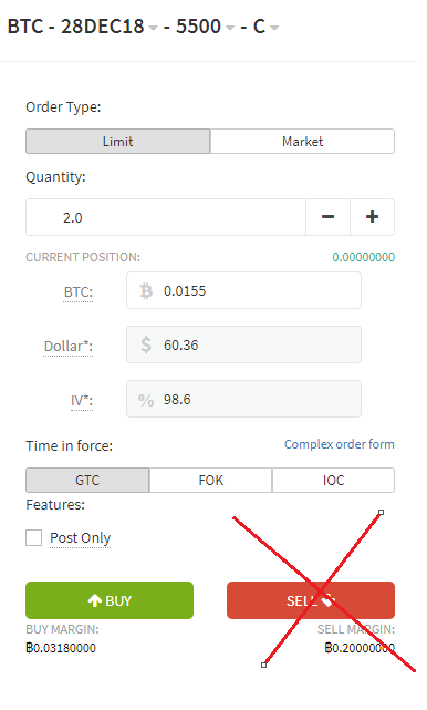 Trading Bitcoin Options at Deribit (Part 1) - By