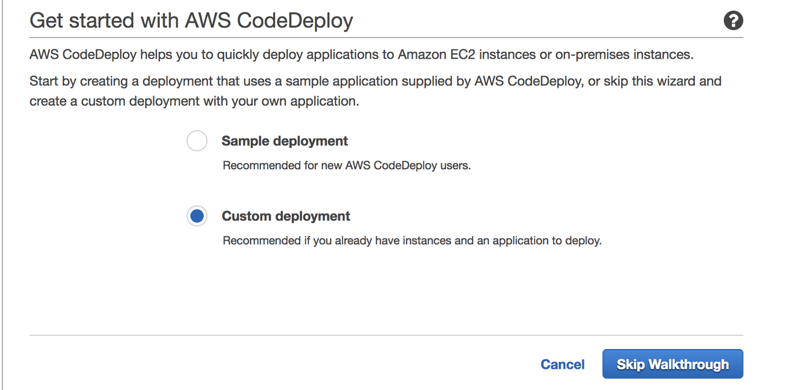 Deploy to EC2 with AWS CodeDeploy from Bitbucket Pipelines - By