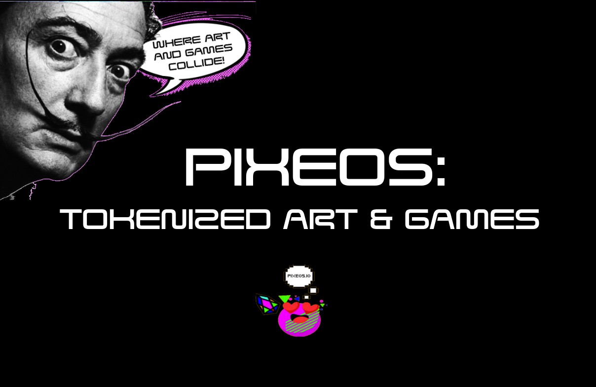 /pixeos-new-tokenized-art-and-game-platform-on-eos-2d9d47bcfb81 feature image