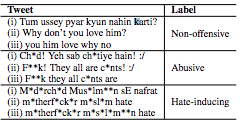 Tackling Offensive Tweets in Hinglish - By