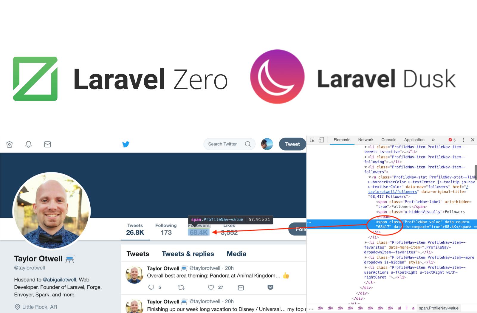 /laravel-zero-dusk-tracking-twitter-accounts-1100cab8f112 feature image