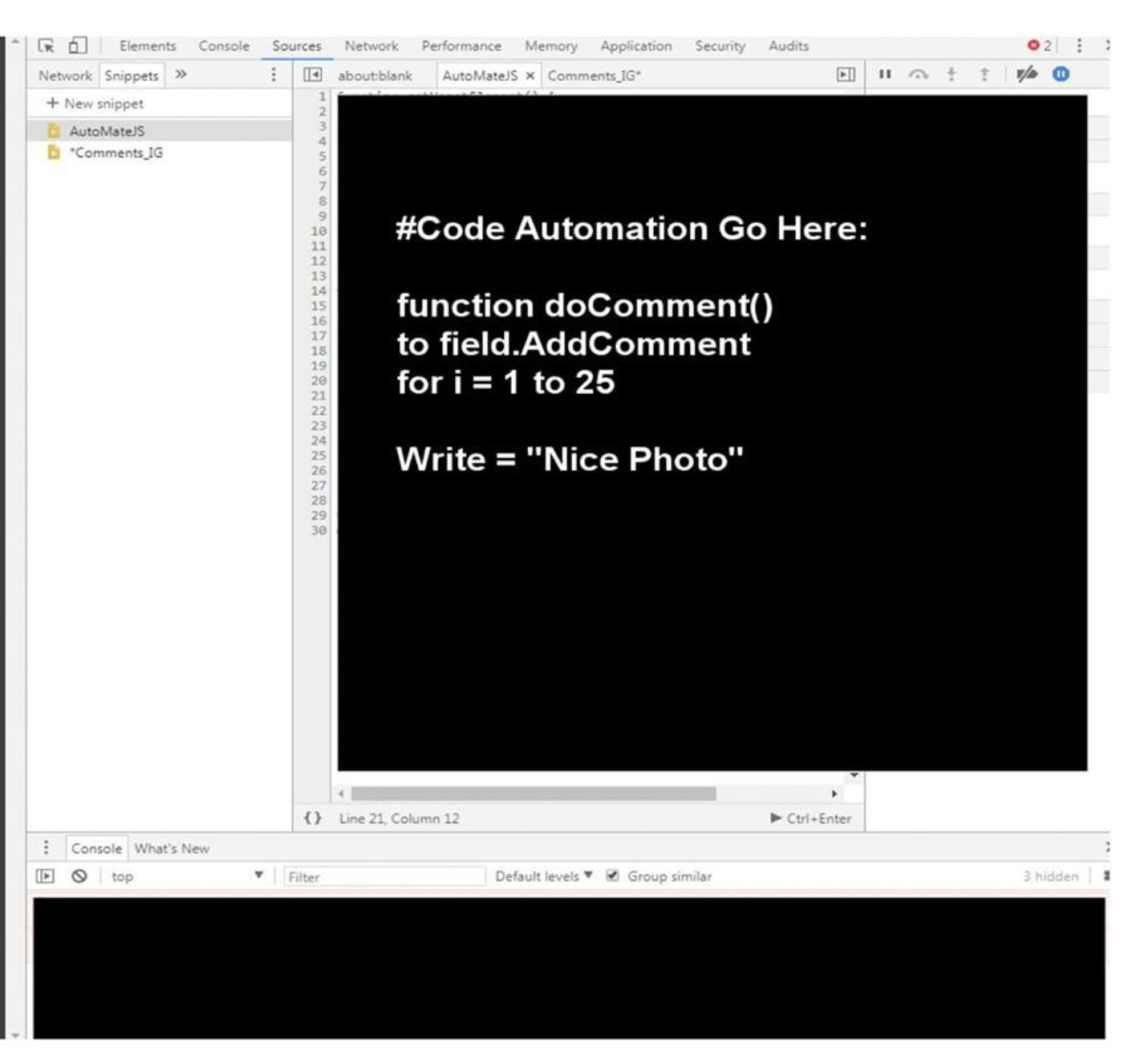 """Botting"""" and Task Automation on Social Media - By"""