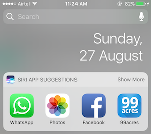 All you need to know about Today Extensions (Widget) in iOS 10 - By