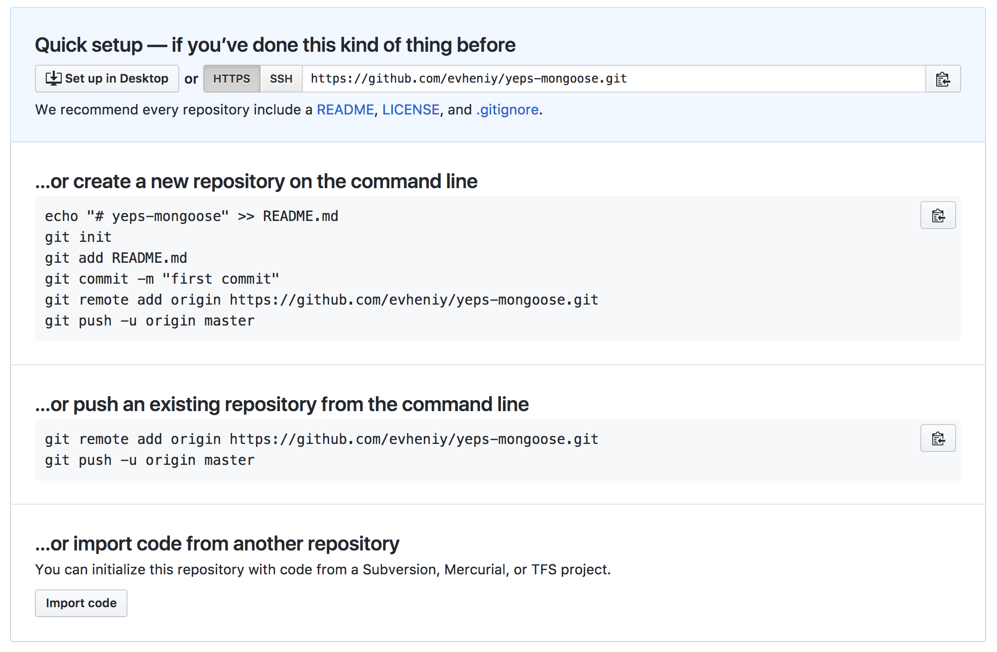 Open source node js package from scratch - By