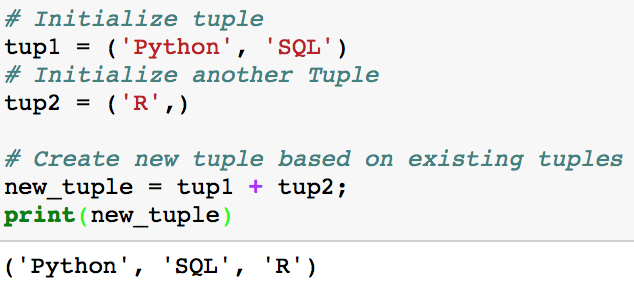 Python Tuples and Tuple Methods - By