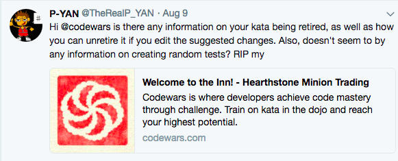 I wrote a CodeWars Puzzle and it was a disappointing experience - By