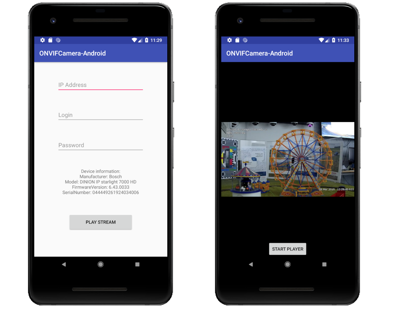 Live stream an ONVIF Camera on your Android app! 📱 - By