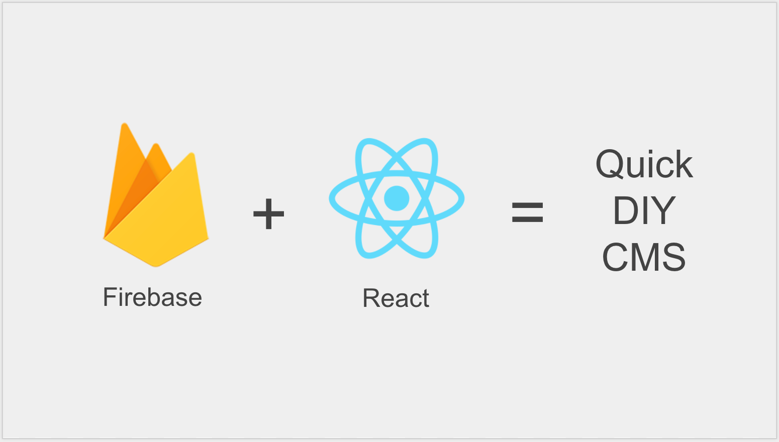 How I built a Content Management System for a React app in
