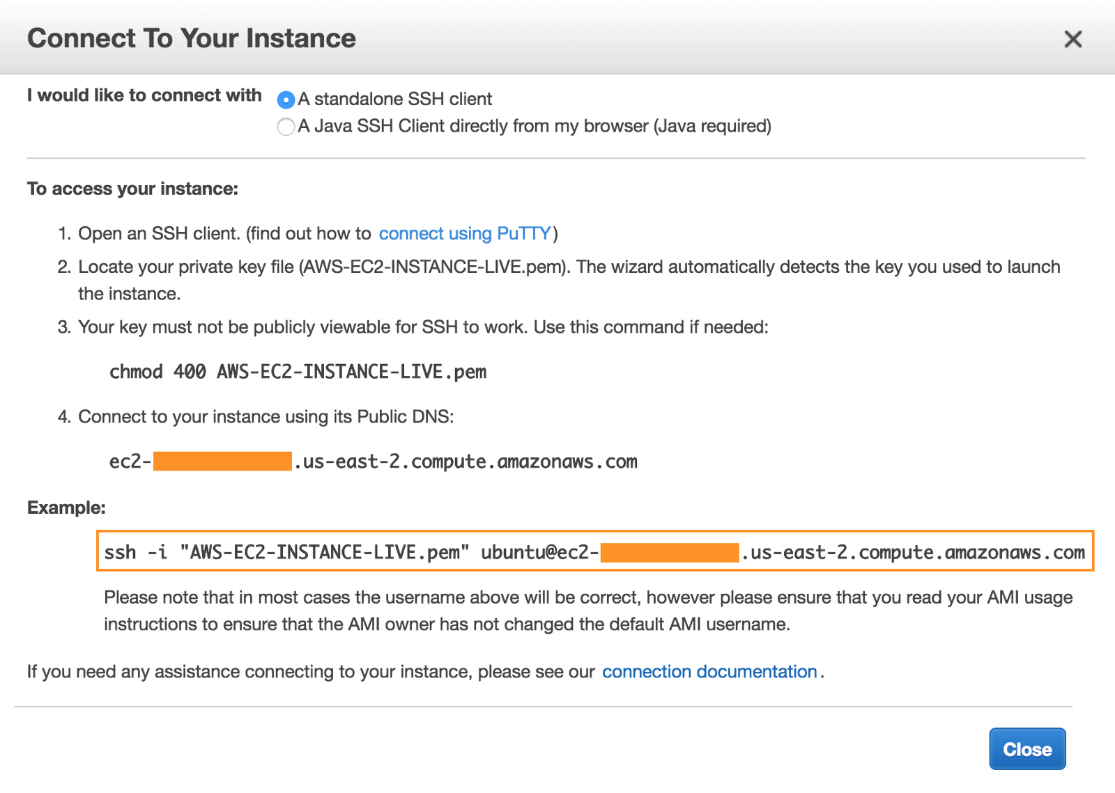 Make your Amazon EC2 instance up and running  - By