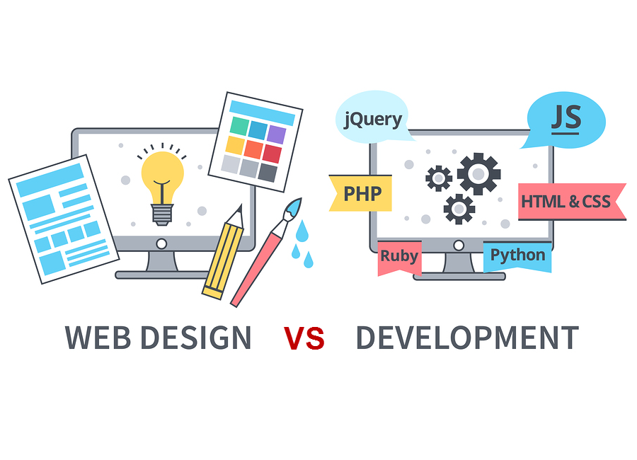 What Is The Difference Between Web Design And Web Development Hacker Noon