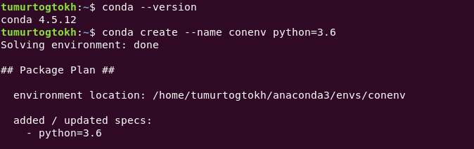Developing Python application: Virtual environment - By Tumurtogtokh