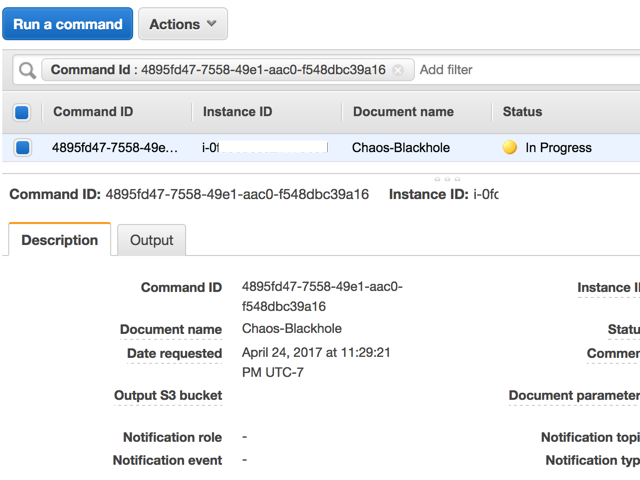 Chaos Engineering using Amazon EC2 Systems Manager - By
