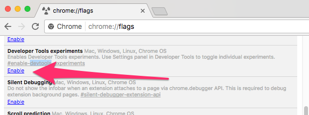 Hidden Experimental Features in Chrome Devtools - By