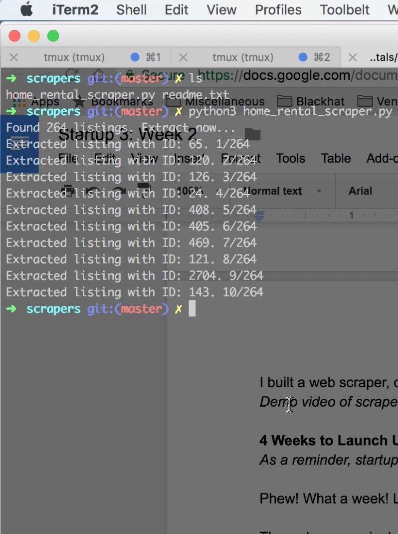 Startup 3: Week 3–blitzkrieg Programming - By